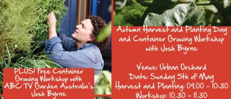 Perth Cultural Centre Autumn Harvest & Planting Day