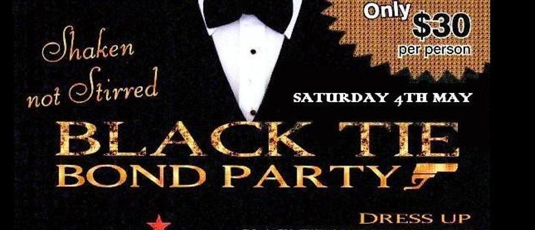 Black Tie Bond Party