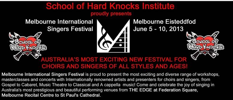 Melbourne International Singers Festival