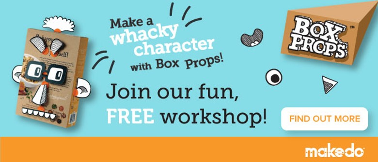 Kid Workshop: Make a Whacky Box Character