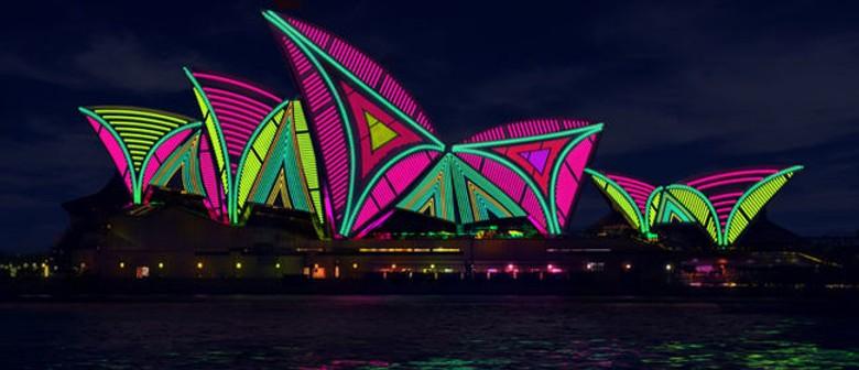 Darling Harbour at Vivid Sydney