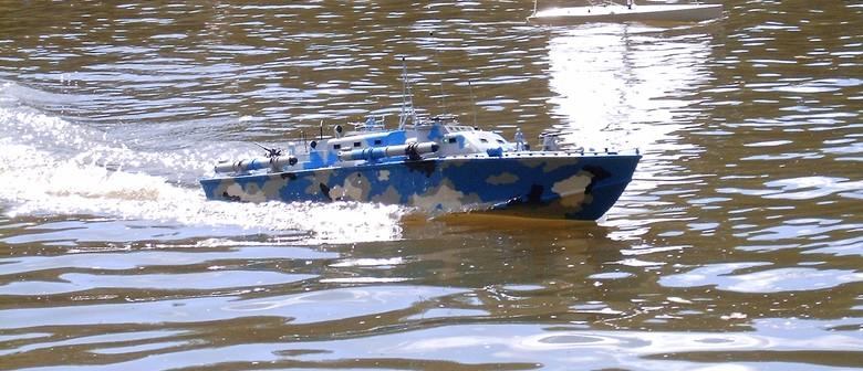 Triple 'S' Model Boat Club. Navy Day.