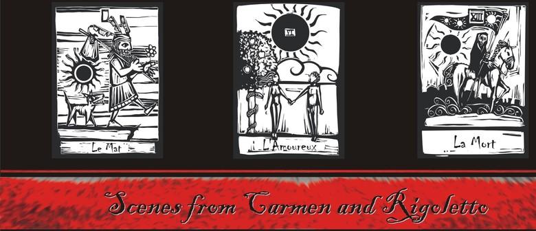 Scenes from Carmen and Rigoletto