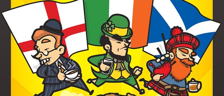 An Englishman, an Irishman & a Scotsman