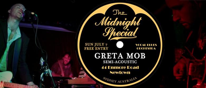 Greta Mob semi acoustic at The Midnight Special