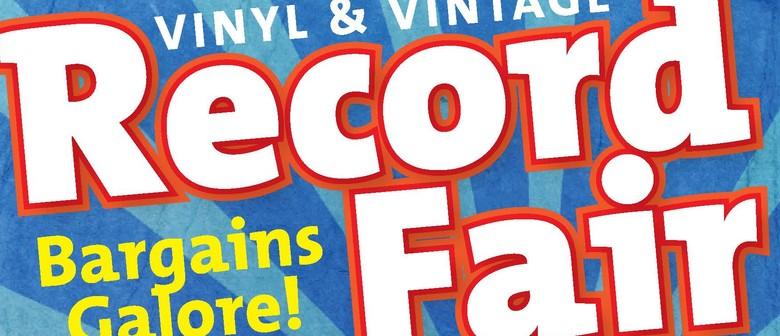 Vinyl and Vintage Record Fair