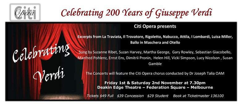 Celebrating 200 Years of Giuseppe Verdi