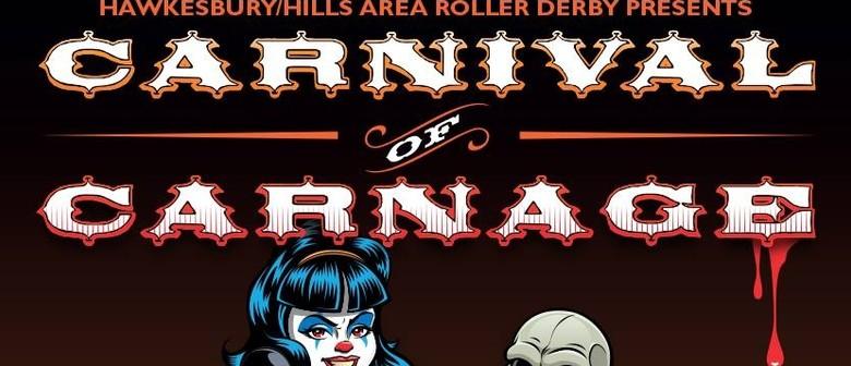 Roller Derby Double Header: Carnival of Carnage