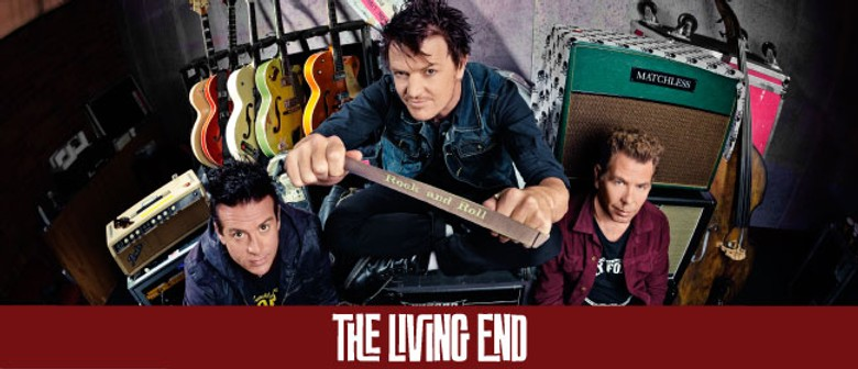 The Living End LIVE at BMW Caulfield Cup Day
