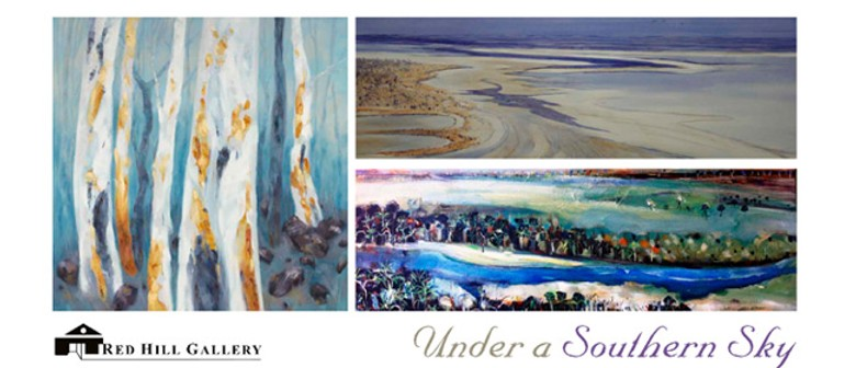 Under a Southern Sky - an exhibition of new paintings