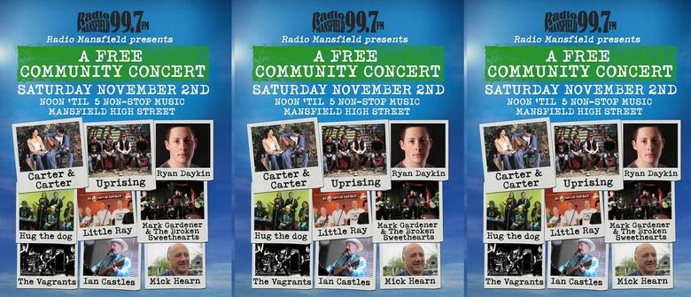 Radio Mansfield Community Concert