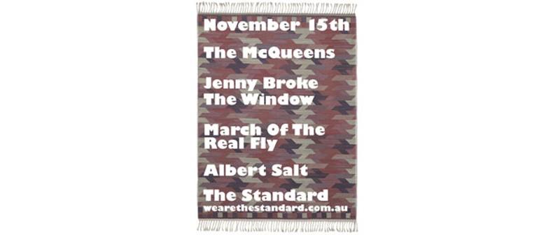 The McQueens + Jenny Broke The Window + Albert Salt + more!