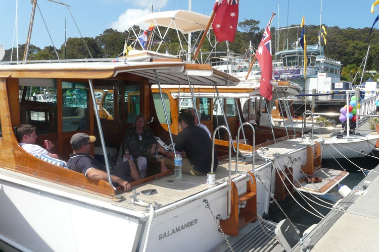 Timber Boat Festival At The Royal Motor Yacht Club