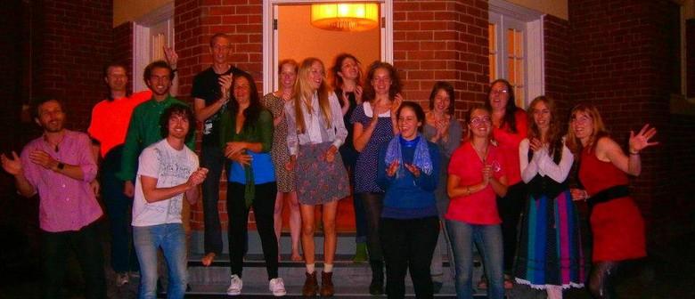 Group singing workshop