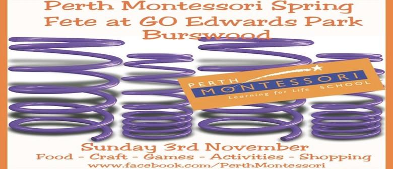 Perth Montessori Spring Fete