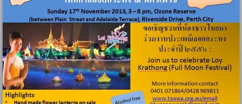 Loy krathong Festival Perth (Full Moon Festival Perth 2013)