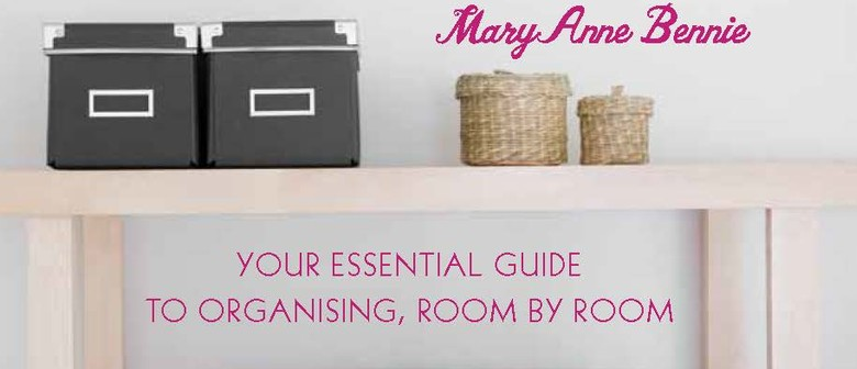 Learn how to  organise your home in 8 easy steps