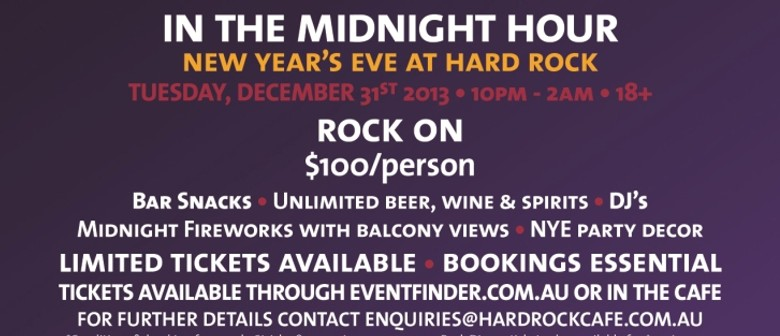 New Years Eve at Hard Rock