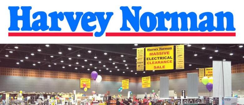 Harvey Norman's Massive clearance sale