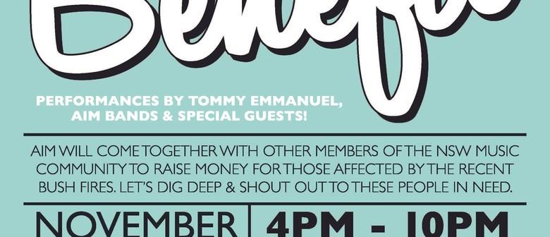 AUSTRALIA'S FINEST GUITARIST TOMMY EMMANUEL TO HEADLINE AIM'