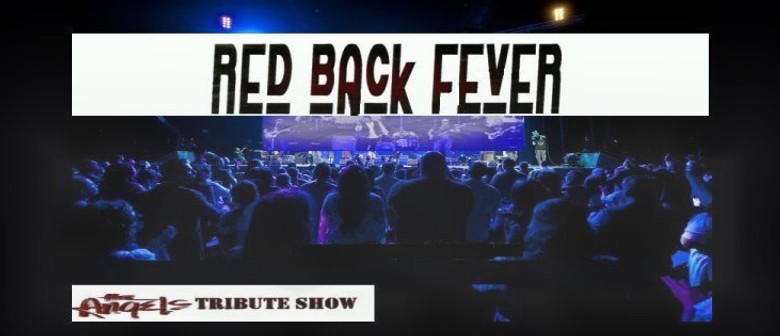 Redback Fever - The Angels Tribute Show At The Emu