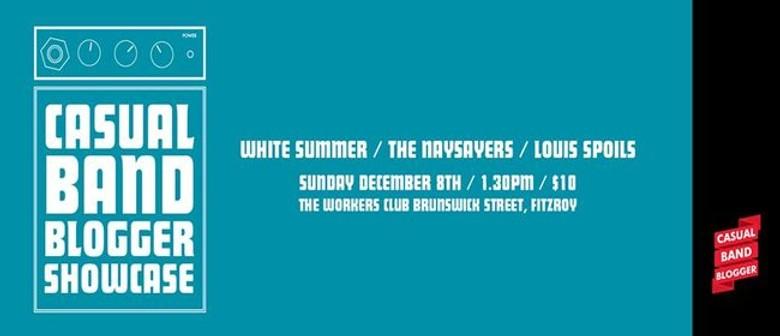 Casual Band Blogger Melbourne Showcase