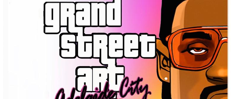 Grand Street Art: Adelaide City