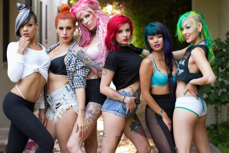 Suicidegirls Blackheart Burlesque Tour Brisbane Eventfinda