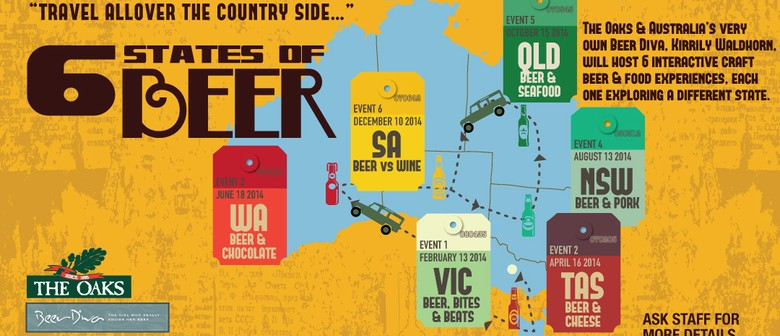 The Oaks' Six States of Beer