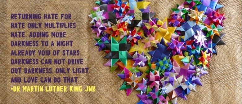1 million stars to end violence - free ribbon weaving event