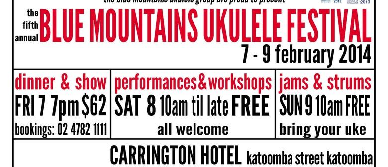 The Blue Mountains Ukulele Festival