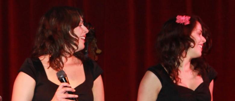 Alanna and Alicia 'Sing Out Sister' with Kavisha Mazzella