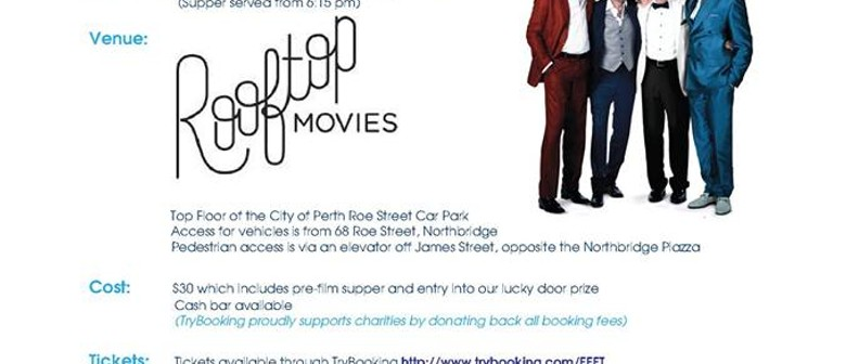 Perth Bushfire Rooftop Movies Charity Night