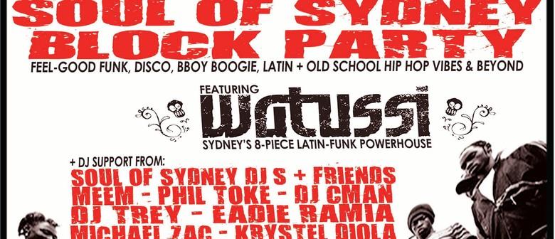 Soul of Sydney Block Party feat.Watussi (Latin Funk 8 Piece)