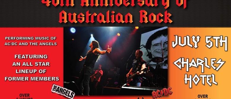 40th Anniversary of Australian rock