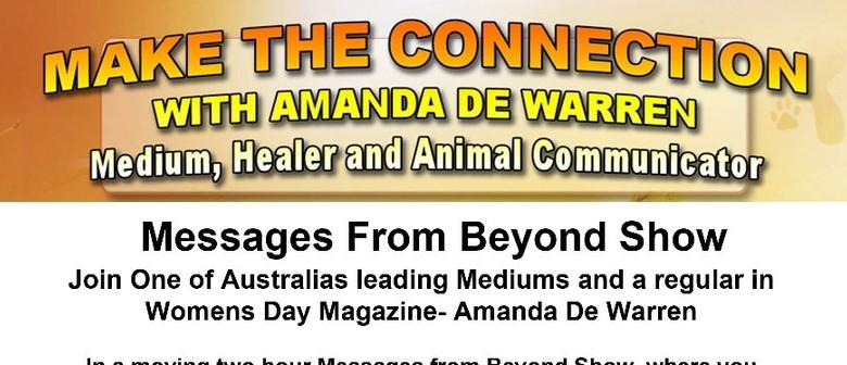 An Evening with Medium Amanda De Warren Messages from Beyond