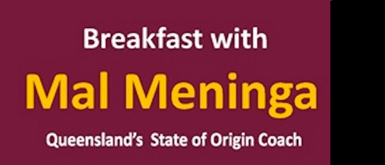Breakfast with Mal Meninga