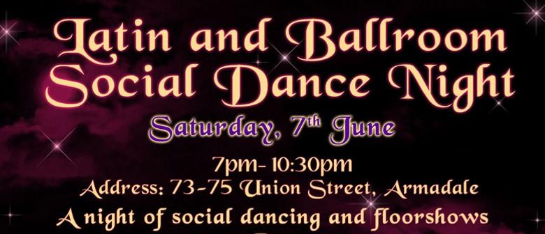 Latin and Ballroom Social Dance Night
