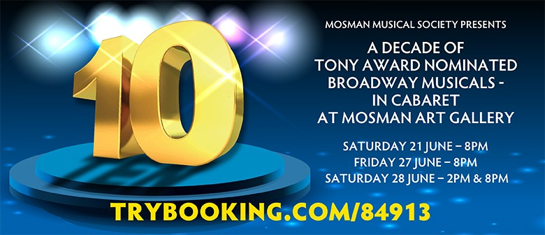 10 - A Decade of Broadway in Cabaret