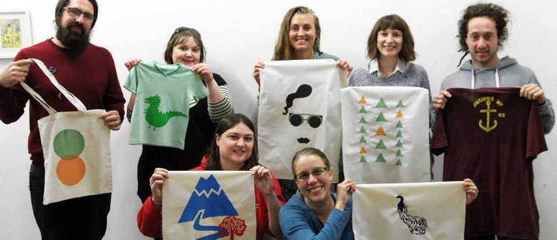 Learn to Screen Print in a Day - One Day Short Course