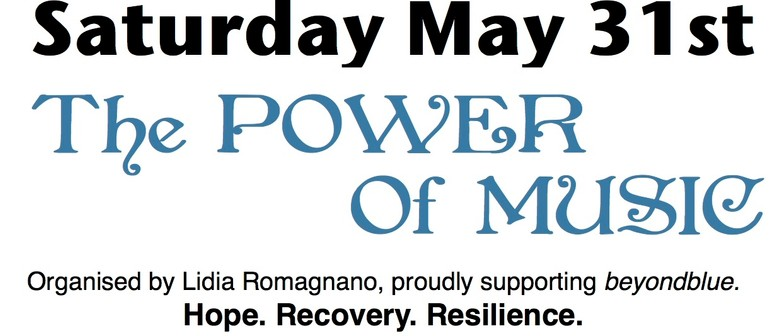 Beyond Blue Fundraiser Event - The Power Of Music