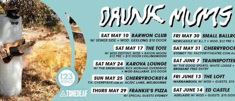 Drunk Mums, The Good Sports, Surfin Bird, White Lodge, WOD |