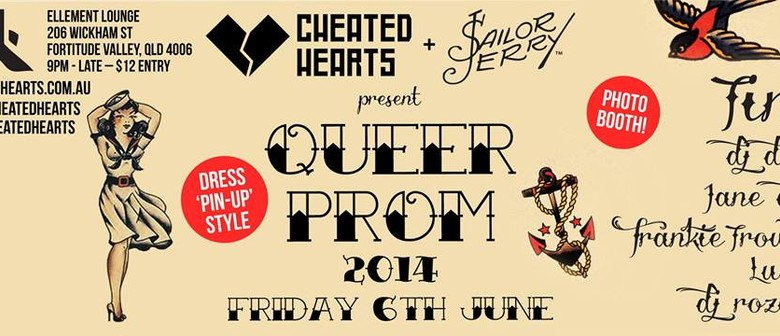 Cheated Hearts Sailor Jerry Queer Prom
