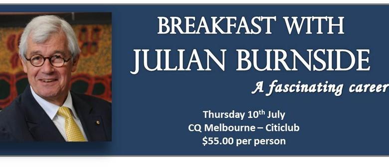 Breakfast with Julian Burnside