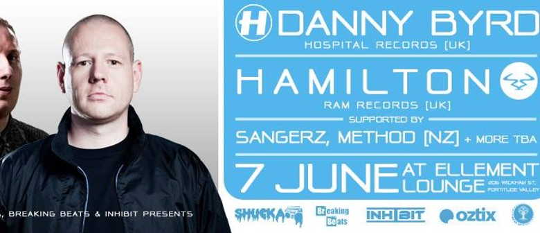 Danny Byrd (UK) & Hamilton (UK)