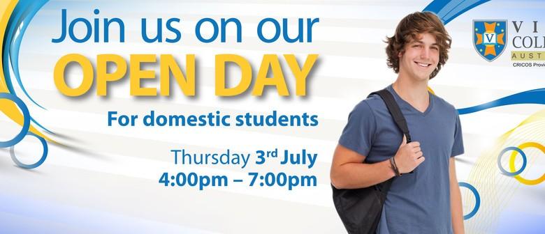 Viva College Domestic Open Day