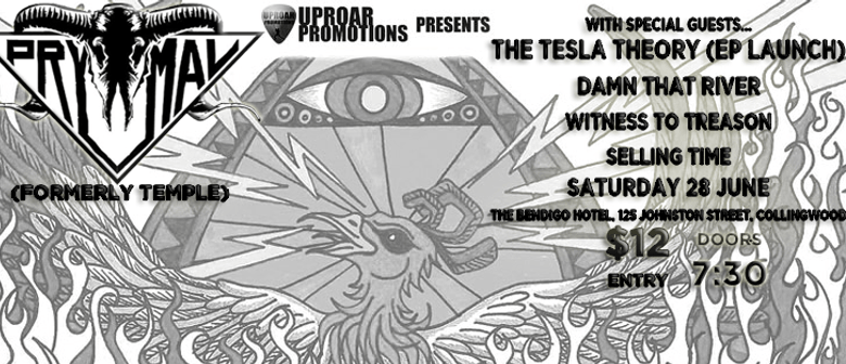 PRYMAL with The Tesla Theory (EP Launch)