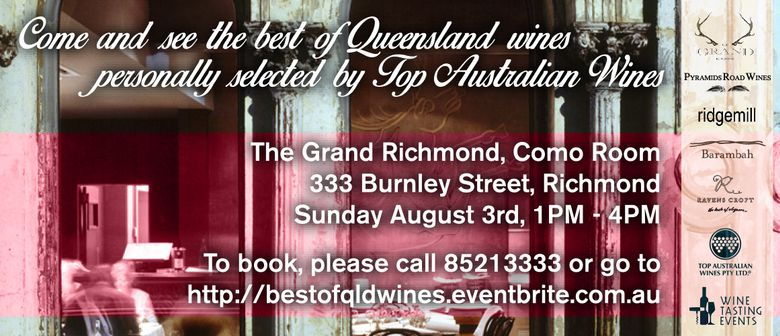 The Best of Queensland Wines Lunch