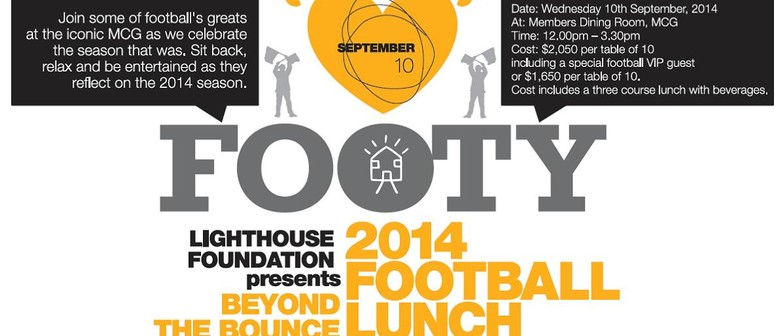 2014 'Beyond the Bounce' Football Lunch