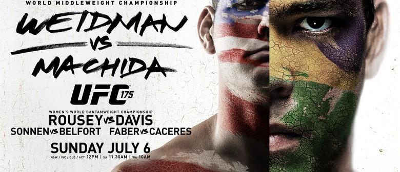 UFC 175 on the big screens